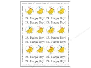 Party & Celebrations SRM Press Sticker: SRM Press Sticker By The Dozen Birthday Birdie