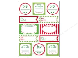 SRM Press Sticker Labels by Dozen Christmas Greet