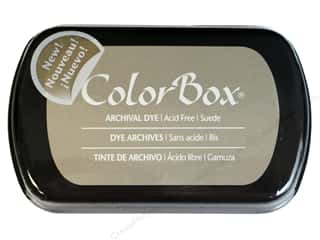 ColorBox Paints: ColorBox Archival Dye Inkpad Full Size Suede