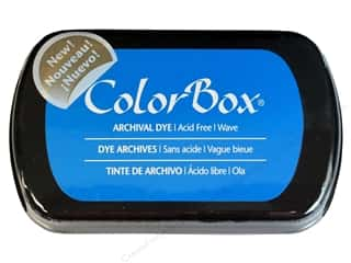 ColorBox Paints: ColorBox Archival Dye Inkpad Full Size Wave