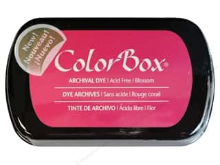 ColorBox Paints: ColorBox Archival Dye Inkpad Full Size Blossom