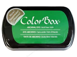 ColorBox Archival Dye Inkpad Full Sz Irish