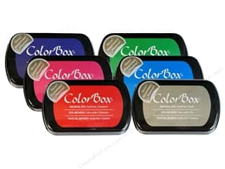 Weekly Specials Paint: ColorBox Full Size Archival Dye Ink Pad, SALE $3.09-$4.79.