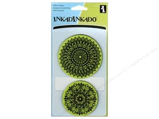 Rubber Stamps: Inkadinkado InkadinkaClings Stamp Lace Doilies
