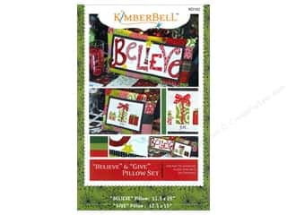 Kimberbell Designs Patterns Believe & Give Pillow Set Pattern