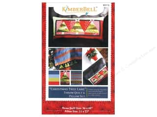 Pieced Tree Patterns: Kimberbell Designs Patterns Christmas Tree Lane Throw & Pillow Set Pattern