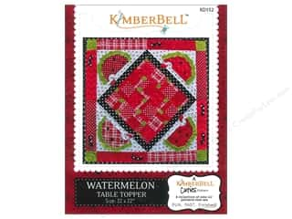 Kimberell Designs Table Runners / Kitchen Linen Patterns: Kimberbell Designs Cuties Watermelon Table Topper Pattern