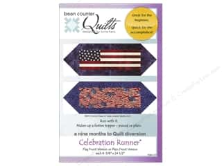Quilting Americana: Bean Counter Quilts Celebration Runner Pattern