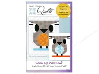 Quilt Company, The: Grow Up Wise Owl Pattern by Bean Counter Quilts