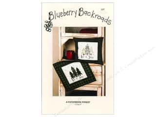 Blueberry Backroads Needlework Patterns: Blueberry Backroads A Patchwork Forest Pattern