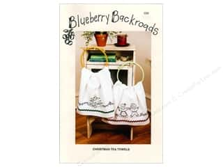 Blueberry Backroads Needlework Patterns: Blueberry Backroads Christmas Tea Towels Pattern