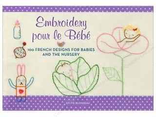 Transfers New: Embroidery pour le Bebe Book vy Harper Collins