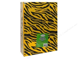 "Weekly Specials Paint: Multicraft Krafty Kids Foam Fun 9""x 12"" 2mm Assorted Safari (25 sheets)"