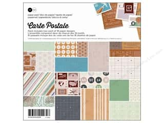 BasicGrey Paper Pad 6 x 6 in. Carte Postale 36 pc.