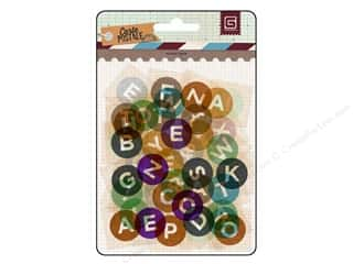 ABC & 123 Clear: BasicGrey Die-Cut Acetate Alphabet Carte Postale