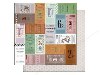 Compass Clearance Crafts: BasicGrey 12 x 12 in. Paper Carte Postale Mulholland Drive (25 pieces)