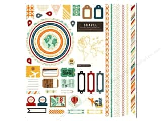 BasicGrey Element Stickers Carte Postale