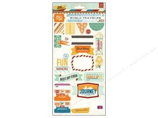 BasicGrey Title Stickers Carte Postale
