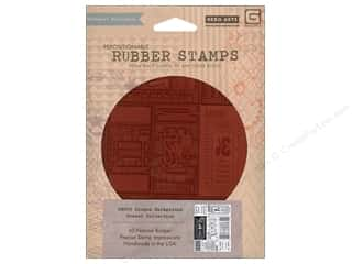 BasicGrey Rubber Stamp Coupon Background