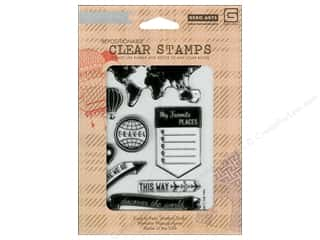 Vacations Clearance: BasicGrey Clear Stamps 8 pc. Carte Postale My Favorite