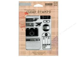 BasicGrey Clear Stamps 10 pc. Journey