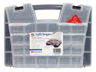 Craft Design Portable Craft Organizer Purple