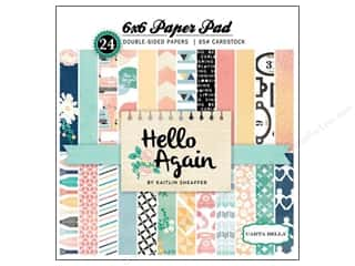 Carta Bella 6 x 6 in. Paper Pad Hello Again