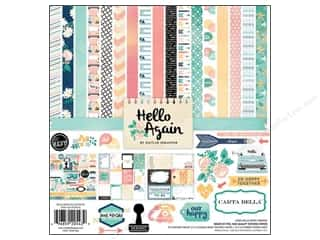 Carta Bella Carta Bella Collection Kit: Carta Bella Collection Kit 12 x 12 in. Hello Again
