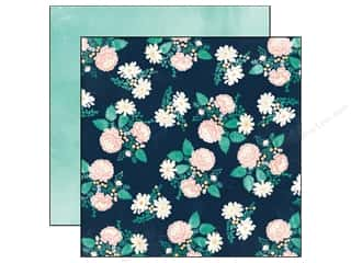 Carta Bella 12 x 12 in. Paper Hello Floral (25 piece)