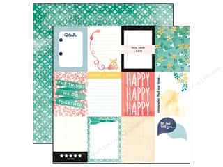 Carta Bella Paper 12x12 Hello Again Journal Cards (25 piece)
