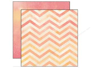 Carta Bella 12 x 12 in. Paper Hello Chevron (25 piece)