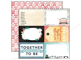 Carta Bella Borders: Carta Bella 12 x 12 in. Paper Hello Again Together (25 pieces)