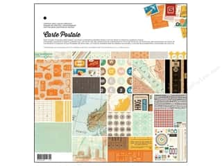 Weekly Specials Paper Packs: BasicGrey Collection Pack 12 x 12 in. Carte Postale