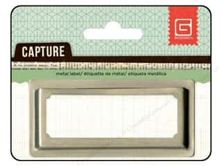 BasicGrey Capture Metal Label 1 pc.