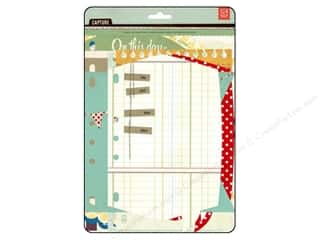 BasicGrey BasicGrey Embellishments: BasicGrey Capture Designer Journal Insert Tabs 10 pc.