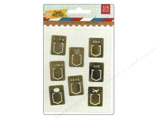 BasicGrey Metal Tabs 7 pc. Carte Postale
