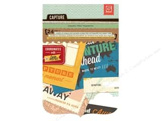 BasicGrey Capture Snippets 24 pc. Carte Postale (3 sheets)