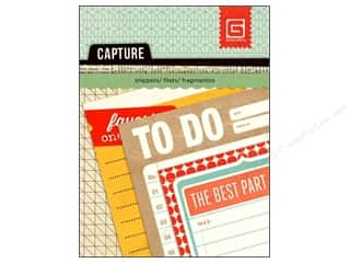 BasicGrey Capture Mini Snippets 24 pc. Journal (3 sheets)