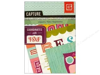 BasicGrey Capture Mini Snippets 24 pc. RSVP (3 sheets)