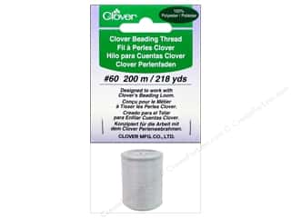 Clover Beading Thread #60 218 yd. White