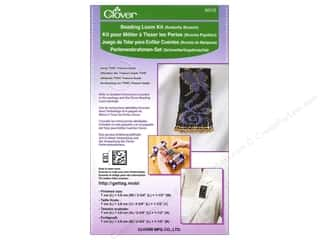 Looms Projects & Kits: Clover Beading Loom Kit Butterfly Brooch