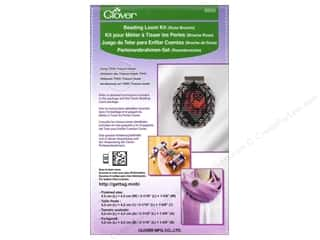 Looms Projects & Kits: Clover Beading Loom Kit Rose Brooch