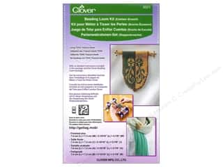 Looms Projects & Kits: Clover Beading Loom Kit Emblem Brooch