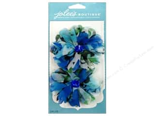 EK Jolee's Boutique Le Fleur Flower Watercolor Blue