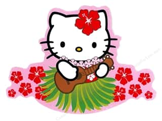 Bendon Publishing San Rio / Hello Kitty: C&D Visionary Sticker Hello Kitty Ukulele