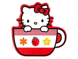 C & D Visionary C&D Visionary Stickers: C&D Visionary Sticker Hello Kitty Teacup