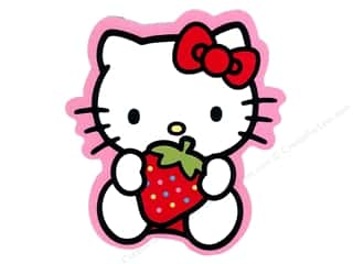 Susie C Shore Designs $4 - $5: C&D Visionary Sticker Hello Kitty Strawberry