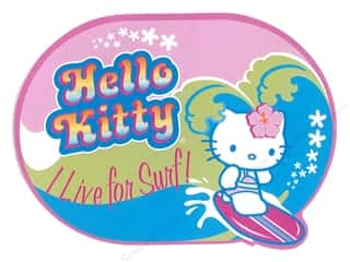 C & D Visionary C&D Visionary Stickers: C&D Visionary Sticker Hello Kitty Live For Surf