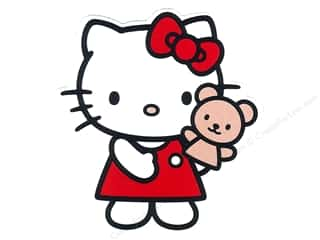 Susie C Shore Designs $4 - $5: C&D Visionary Sticker Hello Kitty Puppet
