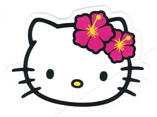 C & D Visionary $4 - $5: C&D Visionary Sticker Hello Kitty Headshot